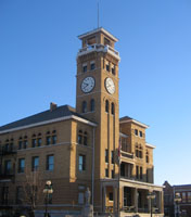 Cass County Court House - Built 1897